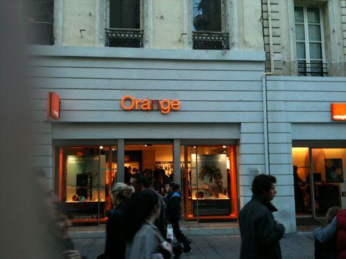 ORANGE DANS TOUT SES ETATS